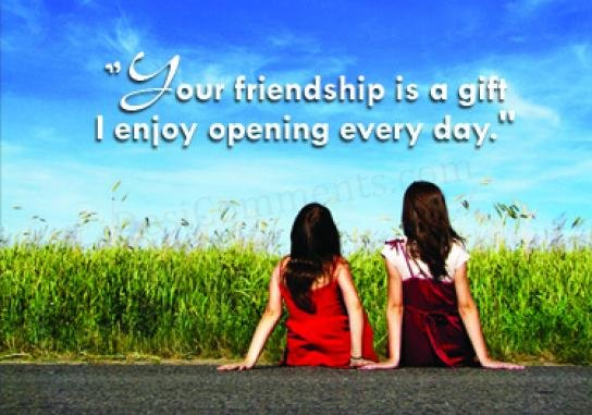 And now I m going to narrate another chapter of my friendship story  Friendship Pictures With Quotes For Girls